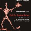 Profesor dr. Dumitru Borţun conferențiază la TNB