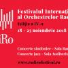 """Se deschide Festivalul RadiRo cu """"Rapsodia nr. 1"""" de Enescu"""