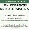"""Lansare Rediviva la Institutul Italian de Cultură din Bucuresti: """"Imn existenţei – Inno all'esistenza"""" de Elena Liliana Popescu"""