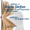 Arhitectul Dorin Ştefan, la Cafeneaua critică