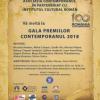 Gala Premiilor Contemporanul 2018