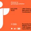"""Masă rotundă """"Arte în București"""", la UNA Galeria"""