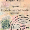 """Expoziția """"Repere istorice în filatelie (1862-1942)"""", la Galați"""