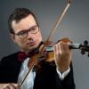 Violonistul ALEXANDRU TOMESCU și dirijorul LADISLAU HORVATH (concertmaestru al orchestrei Maggio Musicale Fiorentino), în primul concert din Noul An la Sala Radio