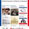 """Evenimente publice, în cadrul proiectului """"Influențe franceze în arhitectura românească"""""""