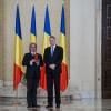 """Dirijorul Ion Marin a fost decorat cu Ordinul Național """"Pentru Merit"""" în  grad de Comandor de către Președintele României, Klaus Iohannis"""