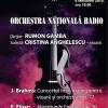 Dirijorul de origine britanică, RUMON GAMBA în concert Brahms/ Elgar la Sala Radio