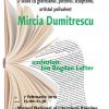 Mircia Dumitrescu, la Cafeneaua critică