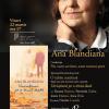 """Ana Blandiana – conferință despre poezie și spectacol-lectură: """"O iubire continuă"""""""