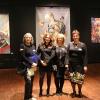 Meşteşugul tapiseriei şi broderiei româneşti, în centrul atenţiei la Bienala Internaţională de Textile de la Haacht prin lucrări somptuoase a şase artiste consacrate