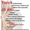 """""""Yorick""""-ul Nemirei la 10 ani, la Cafeneaua critică"""