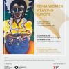 """Expoziția de artă contemporană """"ROMA WOMEN WEAVING EUROPE"""""""