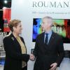 Prima zi la Livre Paris 2019 – ministrul francez al Culturii a vizitat standul ICR: Este un mare succes!