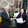 """Mireille Radoi a primit premiul """"Erou Sublocotenent Ioan R. Marinescu"""" pentru volumul """"Eroinele României Mari. Destine din linia întâi"""""""