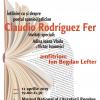 Poetul spaniol/galician Claudio Rodríguez Fer, la Cafeneaua critică