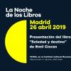 """""""Noaptea cărților"""" în Madrid: prezentarea volumului """"Singurătate și destin"""" de Emil Cioran"""