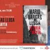 """Lansarea romanului """"Istoria lui Mayta"""" de Mario Vargas Llosa, la Librăria Humanitas de la Cișmigiu"""