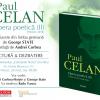 """Lansare de carte la Sibiu: """"Opera poetică (II)"""", de Paul Celan"""