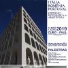 Italia, România, Portugalia: interferențe arhitecturale interbelice