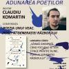 """Claudiu Komartin, la """"Adunarea Poeților și a SpectActorilor craioveni"""""""