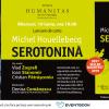 """Lansarea romanului """"Serotonină"""" de Michel Houellebecq, bestseller Bookfest 2019, la Librăria Humanitas de la Cișmigiu"""