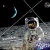"""Emisiunea de mărci poștale """"50 de ani de la primul pas al omului pe Lună"""""""