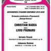 """Dirijorul Christian Badea și violonistul Liviu Prunaru, în deschiderea stagiunii simfonice 2019-2020  a Filarmonicii """"George Enescu"""""""