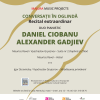 """,,Conversații în oglindă"""", cu pianiștii Daniel Ciobanu și Alexander Gadjiev, la Ateneul Român"""