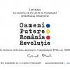 "Cornel Brad expune  ""Oameni.Putere.România.Revoluție"", la Galeria Galateca"