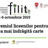 Nominalizări la Premiul liceenilor, în cadrul FILIT 2019