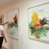 """Vernisajul expoziției de pictură """"Între două țări natale"""", de artista israeliană Bella Rosenbaum, la ICR Tel Aviv"""