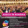 Audiții pentru Orchestra de Tineret a Uniunii Europene (EUYO), la București