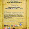 Gala Premiilor Contemporanul  2019