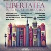 Legendarul disident anti-comunist polonez Adam Michnik și cunoscutul istoric român Adrian Cioroianu, în deschiderea FILTM 2019