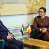 """Vizita E.S. Dr. Ahmed Abdullah Bin Saeed Al Matrooshi – Ambasadorul Emiratelor Arabe Unite în România la Biblioteca Centrală Universitară """"Carol I"""""""