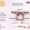 """""""Totul despre femei"""", în cadrul proiectului Clubului Rotary Continental București – """"Pași mari pentru copii mici"""""""