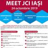 JCI Iași a primit premiul Best Economic Development Program în cadrul JCI România Awards 2019