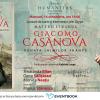 """Seară italiană dedicată lansării romanului """"Giacomo Casanova. Sonata inimilor frânte"""" și întâlnire prin Skype cu scriitorul Matteo Strukul"""