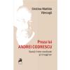 """""""Proza lui Andrei Codrescu. Spații între realitate și imaginar"""", de Cristina-Matilda Vănoagă"""