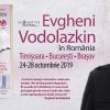 Evgheni Vodolazkin, unul dintre cei mai importanți și îndrăgiți scriitori, revine în România, la Timișoara, București și Brașov