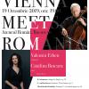 Violoncelistul renumitului cvartet Alban Berg, Valentin Erben, și pianista Cătălina Butcaru, pe scena Ateneului Român