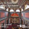 """Expoziţia """"Arhitecţi vienezi & austrieci la Bucureşti (1830-1930)"""" , la Galeria ICR Viena"""