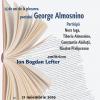 Evocare George Almosnino la Cafeneaua critică