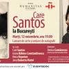 """Care Santos la București. Lansarea romanului """" Tot binele și tot răul"""", o carte despre fragilitatea relațiilor de familie"""