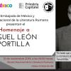 Omagiu adus filozofului și antropologului Miguel León-Portilla