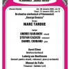 """Soliștii Andrei Barabov, Ștefan Cazacu și Daniel Ciobanu interpretează Concertul pentru vioară, violoncel, pian şi orchestra de Beethoven, la Filarmonica """"George Enescu"""""""
