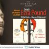 Seară dedicată lui Ezra Pound poet și eseist, reprezentant de marcă al modernismului literar și unul dintre cei mai inovatori gânditori ai secolului
