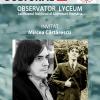 Observator Lyceum la MNLR: întîlnire cu Mircea Cărtărescu
