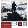 """Conferința de joi : """"Un tânăr romancier român, la 1870 – Mihai Eminescu"""""""