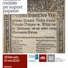 """Documente unice și istoria transformării lor: """"Restaurare bunuri culturale mobile pe suport papetar"""""""
